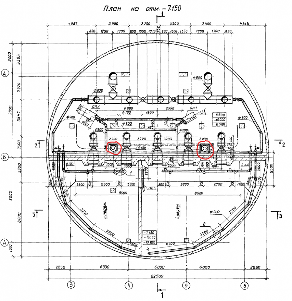 план канализационной насосной станции