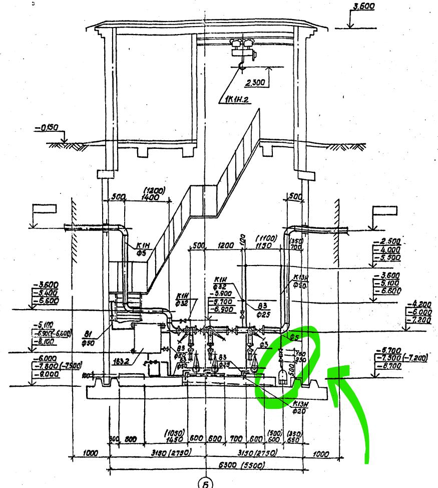канализационная насосная станция чертеж